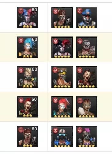 末日血战英雄合成升级需要消耗的资源一览表